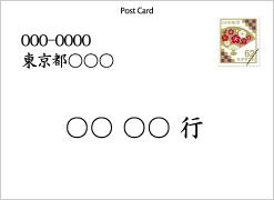 切手位置横