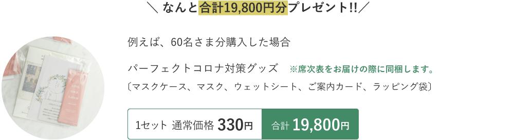 合計13,867円分プレゼント!