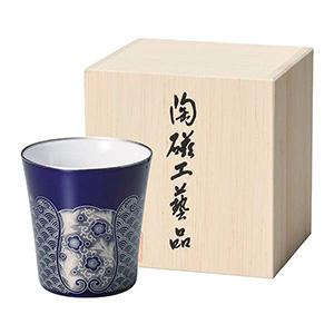香蘭社 フリーカップ(ルリ波地紋)