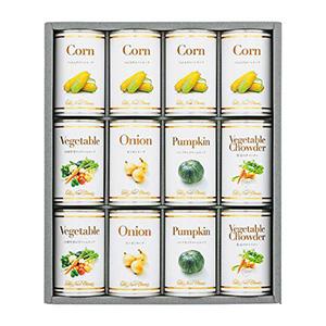 ホテルニューオータニ スープ缶詰セット 12食入