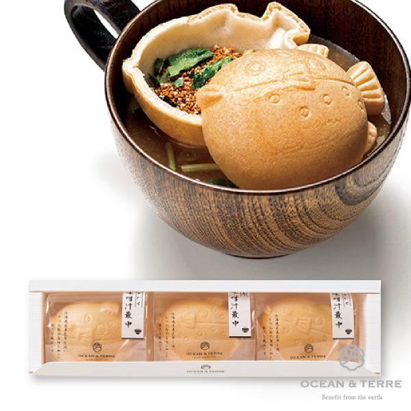 ぷかふぐ最中味噌汁セット