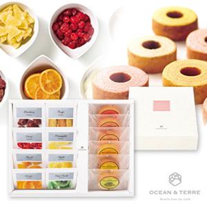 ドライフルーツ&フルーツバウムセットB ドライフルーツ8種&バウム6種