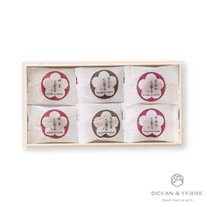 Premium 紀州南高梅 6粒 木箱入り (賞味期限:4ヶ月程)