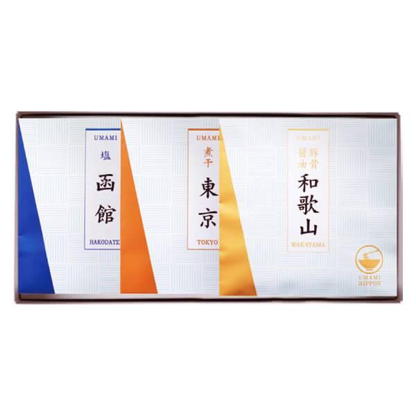 UMAMI ご当地ラーメン10C【函館塩・東京煮干・和歌山豚骨醤油】