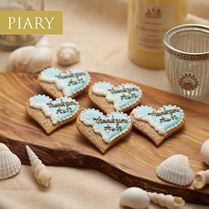 菓子工房さっちんの名入れアイシングクッキー(サンドビーチ)