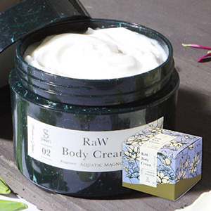 【SWATi】ボディクリーム -RaW Body Cream-(Aquatic Magnolia)