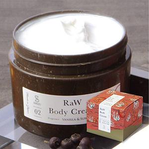 【SWATi】ボディクリーム -RaW Body Cream-(Vanilla & Sunset sea)