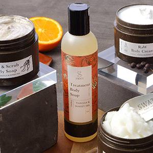 【SWATi】ボディソープ -Treatment Body Soap-(Vanilla & Sunset sea)