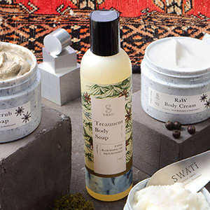 【SWATi】ボディソープ -Treatment Body Soap-(Anise blooming in Mountains!)