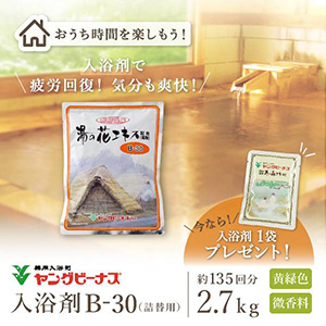 【最短即日出荷】薬用入浴剤ヤングビーナスSvB-30 2.7kg袋