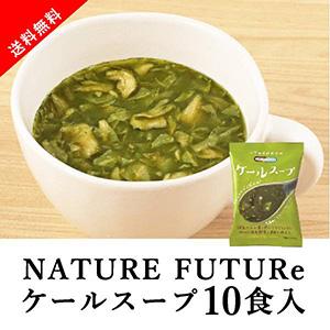【送料無料】メール便 Nature Future ケールスープ 10食セット