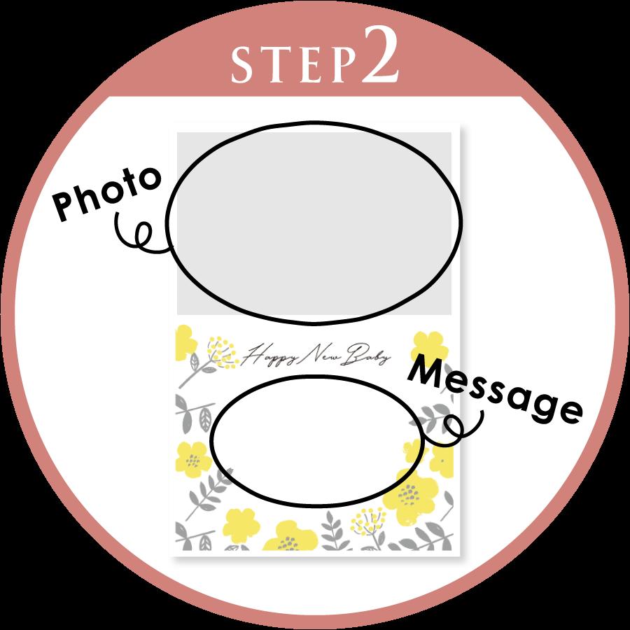 メッセージカードの作り方