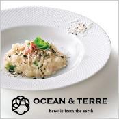 -OCEAN & TERRE-北海道海鮮リゾットと野菜スープ