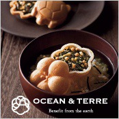 -OCEAN & TERRE-お茶漬け最中